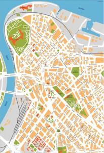 belgrade vector map